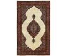 Nain Trading Tappeto Orientale Saruk Antico 210x128 Beige/Marrone Scuro (Lana, Persia/Iran, Annodato a mano)