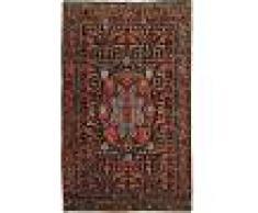 Nain Trading Tappeto Bidjar Antico 226x141 Grigio Scuro/Marrone (Lana, Persia/Iran, Annodato a mano)