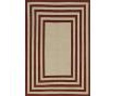 Nain Trading Tappeto Orientale Kilim Fars Design 247x171 Beige/Marrone Scuro (Persia/Iran, Lana, Tessuto a mano)