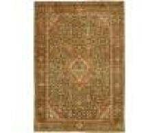 Nain Trading Tappeto Persiano Farahan Antico 199x134 Marrone (Annodato a mano, Persia/Iran, Lana)