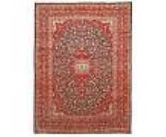 Nain Trading Tappeto Orientale Keshan Antico 399x297 Arancione/Rosa (Persia/Iran, Lana, Annodato a mano)
