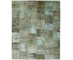 Nain Trading Tappeto Patchwork 299x250 Moderna/Design Beige/Marrone Scuro (Annodato a mano, Lana, Persia/Iran)