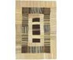 Nain Trading Tappeto Orientale Kilim Design Exklusiv 257x179 Beige/Marrone Scuro (Persia/Iran, Lana, Tessuto a mano)