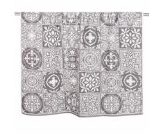 Telo da bagno in cotone a motivi piastrelle, 100x150