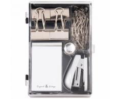 Kit accessori da ufficio in plastica