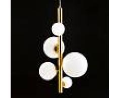 Luce Ambiente Design Fan Europe Lampada a Sospensione Hera 5 Luci G9 L 47 cm