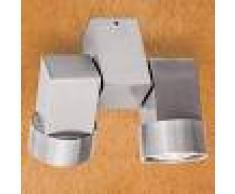 Orion Faretto alogeno Zarina a due luci in alluminio