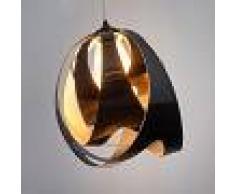 SLamP Moderna lampada a sospensione GOCCIA DI LUCE, nera