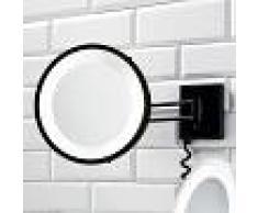Decor Walther Specchio cosmetico BS 25 nero, 3x