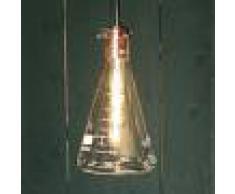 Lucide Lampada a sospensione Vitri, design da laboratorio