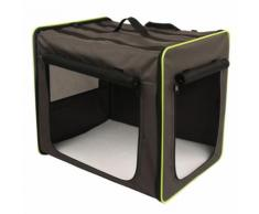 Set Trasportino First Class Basic per cani + Coperta in pile Pawty - Misura Trasportino S + Coperta L 100 x P 70 cm
