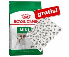Royal Canin Size + Coperta in pile Pawty gratis! - 2 x 8 kg Mini Adult Sterilised