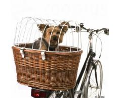 Cesta posteriore da bici con grata protettiva - L 53 x P 35 x H 43 cm