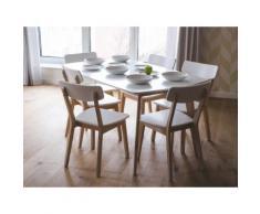 Tavolo da pranzo rettangolare moderno 150x90cm SANTOS