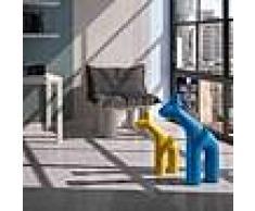 plus Arredamento bar - Scultura a forma di giraffa - mod. raffa scultura a forma di giraffa - mod. raffa medium - dimensioni cm l 9 x p 39 x 54 h - peso kg 1,1