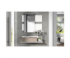 Mobile ingresso: Bianco - rovere grigio / EN742