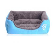 Cuccia divano per animali: Azzurro / M