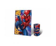 Coperta in morbido e caldo pile misure 150x100 cm per Bambini Spider-Man