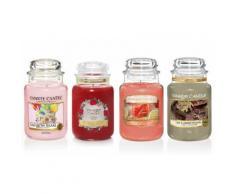 4 candele grandi Yankee Candle: Set 2