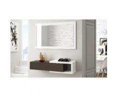 Mobile Ingresso: Bianco - wengè / EN743