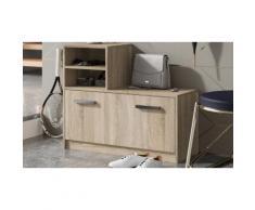Set di mobili da ingresso Amber: Quercia sonoma / Scarpiera