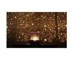 3 lampade a LED Star Master con effetto cielo stellato