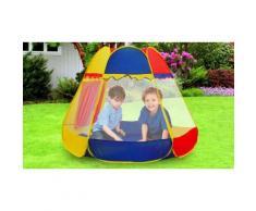 : Tenda Da Gioco Esagonale Per Bimbi E Bimbe Con Simpatica Finestra
