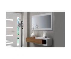 Mobile Ingresso: Bianco - noce / EN743