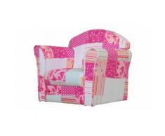 Mini-poltrona: Mini Armchair / Patchwork rosa