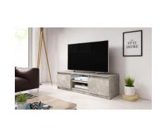 Mobile per TV Selsey con LED: Cemento