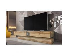 Mobile da TV Selsey Living: Rovere wotan-rovere wotan lucido / Senza LED