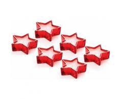 Set 6 candele Star