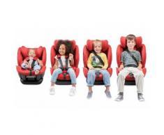 Seggiolino auto per bambino Kinderkraft My Way con sistema Isofix: Rosso