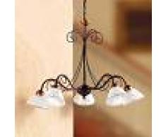 Ceramiche Lampada a sospensione LIBERTY, 5 punti luce