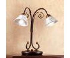 Ceramiche Lampada da tavolo LIBERTY a 2 punti luce