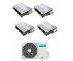 Hisense Condizionatore Hisense Canalizzato Quadri Split 9000+9000+9000+12000 Btu Inverter 4amw81u4raa R-32 A++