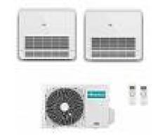 Hisense Condizionatore Hisense Dual Split Pavimento Console R-32 9000+12000 A++ 2amw50u4rxa New 2019