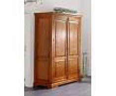 Armadio in legno acacia - laccato / miele 140x65x200 OXFORD # 0436