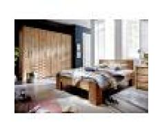 Armadio 4 - ante in legno quercia selvatica - laccato natur 246x65x216 GÖTEBORG #02