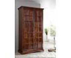 Armadio in legno acacia - laccato / nougat 115x60x212 OXFORD #422