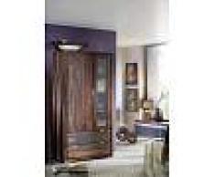 Mobile dispensa in legno sheesham - oliato 105x45x200 PURE SHEESHAM #879