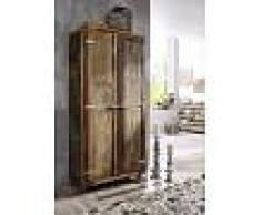 Armadio in legno riciclato - laccato 90x38x175 FREEZY #38