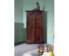 Armadio in legno acacia - laccato / nougat 70x36x133 OXFORD #518
