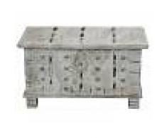 Cassapanca in legno riciclato - laccato 79x39x42 SPECIAL #117