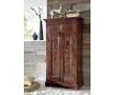 Armadio in legno acacia - laccato / nougat 72x38x132 OXFORD #525
