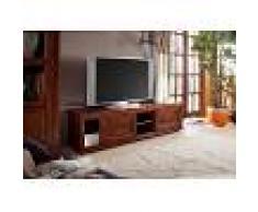 Mobile TV in legno acaca - laccato / nougat 160x45x45 OXFORD #450
