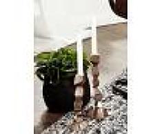 Candelabro in color rame - alluminio 12x11x28 DEKO #023
