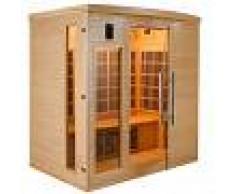 saune Sauna infrarossi mod.Timo in legno di Abete 4 persone