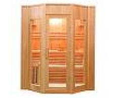 finlandesi Sauna Finlandese con stufa Harvia Ten 4 posti 174 x 198 x 200
