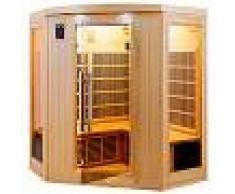 saune Sauna infrarossi angolare 4 posti Full Optional Timo